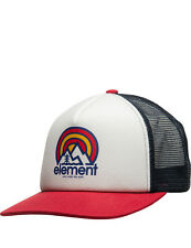 Element Rift Trucker Cap in Off White