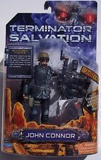 TERMINATOR SALVATION JOHN CONNOR 6 INCH ACTION FIGURE FIGURE WITH T-600 TORSO