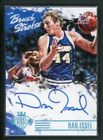 2015-16 DAN ISSEL 25/25 AUTO PANINI COURT KINGS BRUSH STROKES AUTOGRAPHS