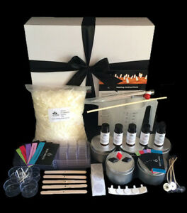 GREAT GIFT IDEA - Beginners Candle Making Kit to make candles, melts & tealights