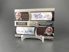 2010 BOWMAN STERLING FOOTBALL COLT MCCOY HARDESTY ROOKIE DUAL JERSEY AUTO 06/25