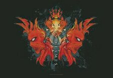 In Flames-Devil Threesome-bandiera POSTER bandiera POSTER IN TESSUTO FLAG #920883