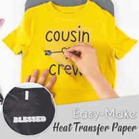 Easy Make Heat Transfer Paper Make Your Own ONE & ONLY T-SHIRT In A Few Minutes