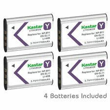 NP-BY1 EN-EL11 LI-60B Battery for Sony Action Cam Mini HDR-AZ1, Olympus FE-370
