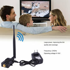 Professional 2.4GHZ 4W Wifi Wireless Broadband Amplifier Router Signal Booster S