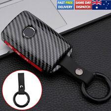 For Mazda 3 CX4 CX5 CX8 Alexa Car Remote Key Cover Shell Case Carbon Fiber