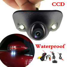 CCD Car Universal Front Rear View Reverse Side Camera Night Vision Waterproof HD