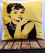 Marilyn Monroe Audrey Hepburn Vintage Retro Style Icon Cover Cushion Pillow Gift