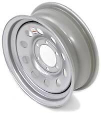 "eCustomrim Trailer Wheel Rim #5227 16x6 16"" x 6"" 6 Hole 5.5"" Center MOD Silver"