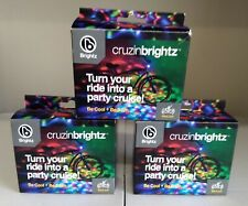 Brightz, Ltd. Cruzin Brightz Red Green Blue, Color Changing LED Light Bicycle