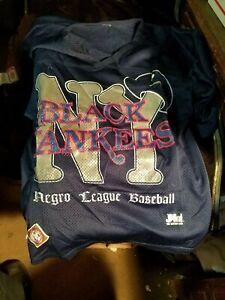 NLBM Negro League Baseball Museum New York Black Yankees Two Sided Shirt