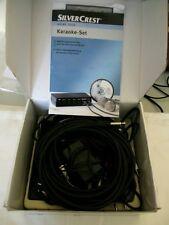 Silver Crest Karaoke-Set inkl. 2 Mikrofone
