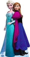 ELSA AND ANNA(DISNEYS FROZEN) LIFE SIZE STAND UP FIGURE ANIMATION KIDS GIRLS FUN