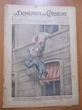 DOMENICA del CORRIERE 51/1922 Assemblea di ladri ad Alessandria, Giacomo Puccini