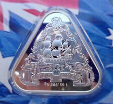 2020 Australian Shipwrecks Zuytdorp #3 Triangular coin .999 fine silver