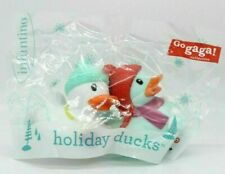 Infantino 2019 Winter Snowball 219041 Holiday Christmas Rubber Ducks Ducky'S New