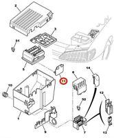 GENUINE PEUGEOT 106 306 406 / CITROEN XANTIA XM  FUSE BOX BRACKET