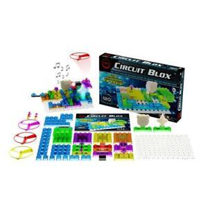 E-Blox Circuit Blox Build a Radio 120 Project STEM Building Bricks Set CB0026