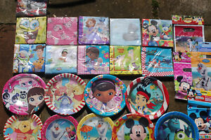 Disney - Movie Birthday Party Range Supplies Decoration - 78 to Choose From