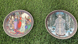 Heinrich The Snow Maiden Snegurochka plate and at the court of tsar berendei