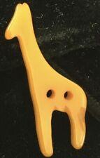 Vintage Molded Bakelite Giraffe Button