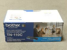 Brother TN-110C TN110C Cyan Toner Cartridge HL-4040CN Genuine New Open Box