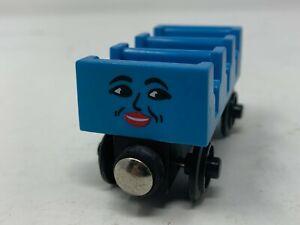 Thomas & Friends Wooden Railway - Ada - 1997 Girl Blue - VGUC