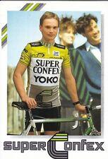 CYCLISME carte cycliste AD WIJNANDS équipe SUPER CONFEX