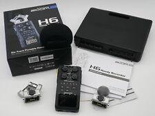 Zoom H6 Handy Recorder + 2 Mikros + Case (Audio Field-Recorder mit Interface)