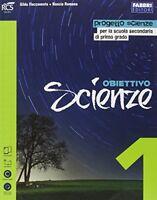Obiettivo scienze 1 (2t) +eb scienze scuola media
