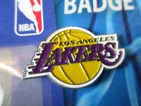 Los Angeles Lakers Logo Pin NBA Basketball Metall Wappen Abzeichen,Crest Badge