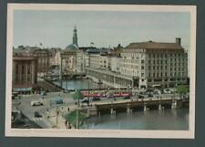 Ansichtskarten aus Hamburg mit dem Thema Straßenbahn