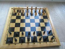 alte Schachfiguren aus Holz #2 (***TOP***) Schachspiel 32 Figuren