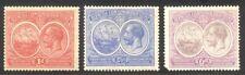 Bermuda #67-69 Mint - 1920 Colony Seal ($56)