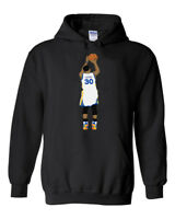 """BLACK Steph Curry Golden State Warriors """"Curry Pic"""" shirt Hooded SWEATSHIRT"""