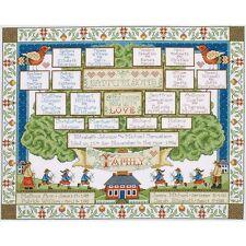 BRAND NEW - Design Work Family Tree Cross Stitch Kit - Factory Sealed