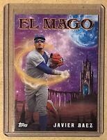 2020 Topps Archives - Javier Baez #313 Nickname EL MAGO Chicago Cubs