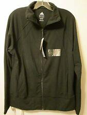 $65 Adidas AdiShape Jacket Black Sport Athletic Training Performance Large NWT