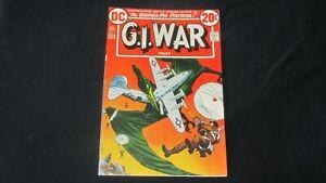 G.I. War Tales #1 (April 1973 DC Comic) 1st Issue