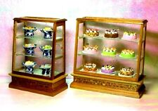 1:12 Miniature Display Wood Bakery Shop Lumber Cabinet Counter Dollhouse Gift
