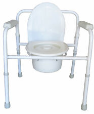 BEMED 3 IN 1 COMMODE WITH PAIL - FOLDABLE