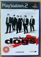 Reservoir Dogs Ps2 Game Based on Tarantino Film Sony PlayStation 2 Eidos