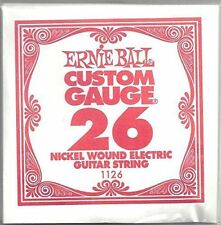 Ernie Ball 26 Nickel Wound CUSTOM Calibre Guitarra Individual cuerdas eléctrica