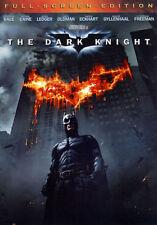 The Dark Knight (DVD, 2008, Full Frame) NEW