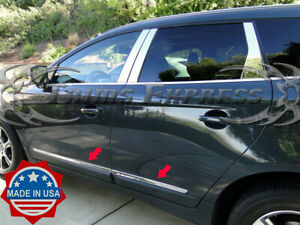 2009-2017 Volvo XC60 XC-60 Stainless Steel Lower Body Side Molding Trim 1 1/4""