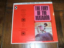 La Fiesta de Toros - The Fury Of The Matador 1960s LP Don Miguel Valencia SEALED