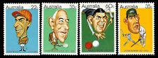 Australia. Australian sportsmen. 1981. Scott 772-775. Mnh