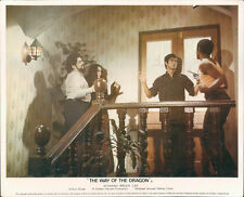 WAY OF THE DRAGON BRUCE LEE ORIGINAL BRITISH LOBBY CARD VERY RARE
