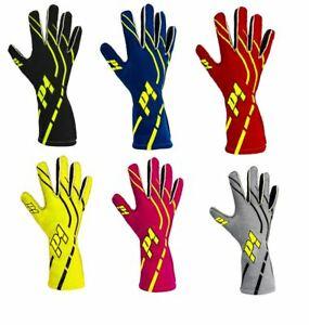 P1 Racewear Grip-2 Race / Rally Nomex  Gloves FIA Approved