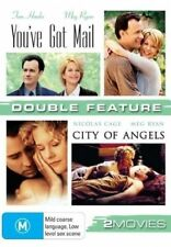 YOU'VE GOT MAIL and CITY OF ANGELS DVD=2 DISC SET=REGION 4 AUSTRALIAN=NEW/SEALED